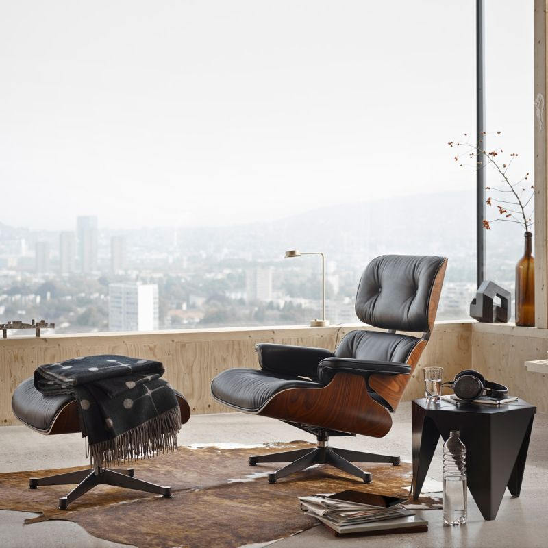 Eames Lounge Chair im Wohnzimmer