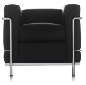 Le Corbusier Sessel LC2 schwarz