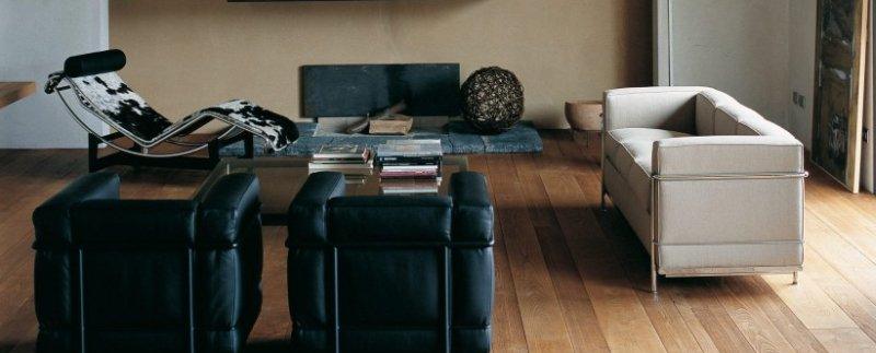 Le Corbusier Sessel, Sofa und Liege