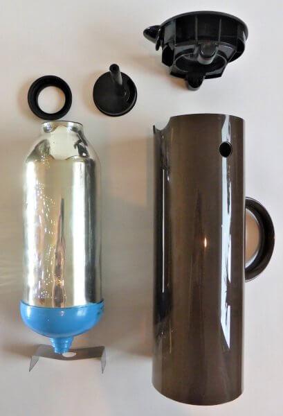 Stelton-Isolierkanne-Einzelteile
