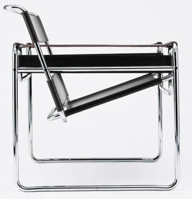 Wassily Chair von der Seite