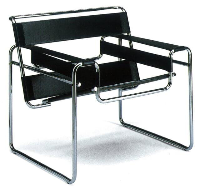 Wassily Chair in schwarz