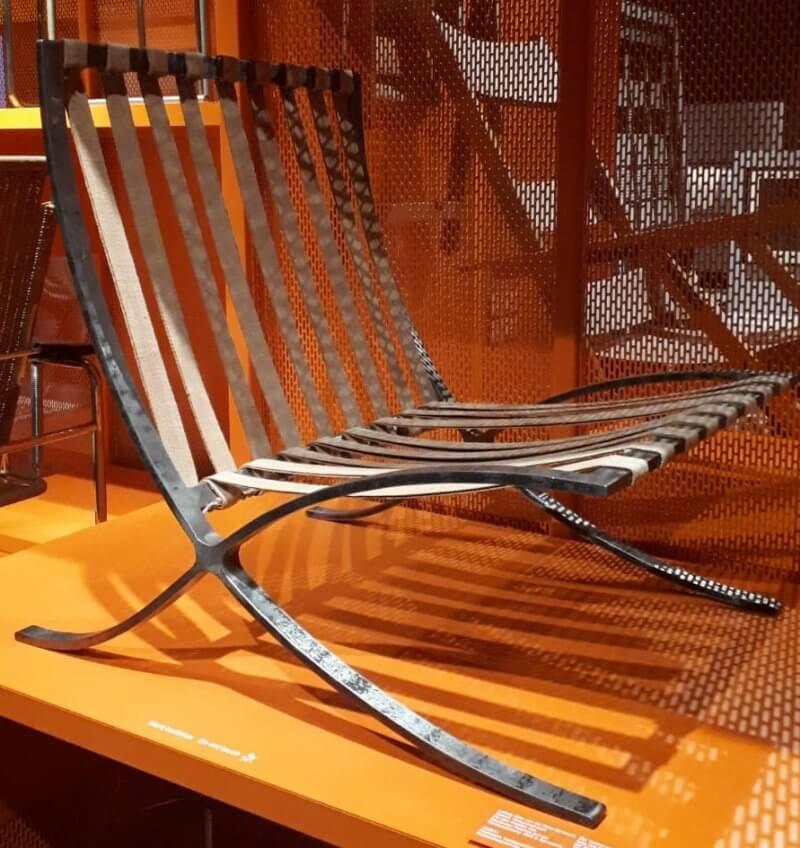 Barcelona Chair Prototyp